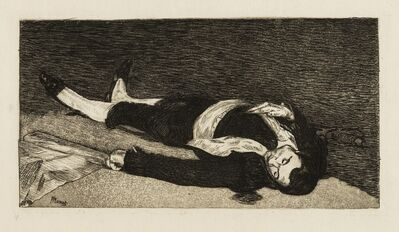 Édouard Manet, 'Le Torero Mort (Harris 55 VI/VI; Guerin 33; Moreau-Nelaton 13)', 1874