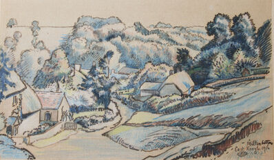 Lucien Pissarro, 'Milton Bottom, East Knoyle', 1916