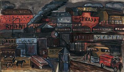 Augusto Torres, 'Paisaje urbano, París'