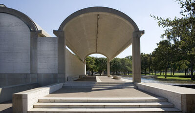 Louis Kahn, 'Colonnade on the north side, Kimbell Art Museum, Fort Worth, Texas', 1972