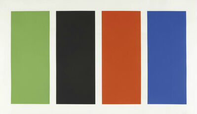 Ellsworth Kelly, 'Four Panels', 1970-1971