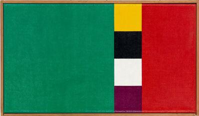 Camille Graeser, 'Konkretion mit drei Farbkomplementen I', 1954-1958
