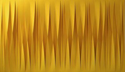 Pino Manos, 'Sincronicità gialla attiva', 2017