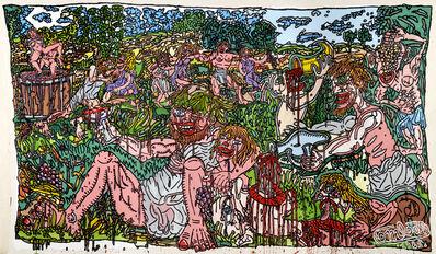 Robert Combas, 'BACCHANALE AVEC GROS BACCHUS', 1985