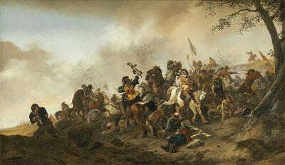Philips Wouwerman, 'Battle Scene', ca. 1645/1646