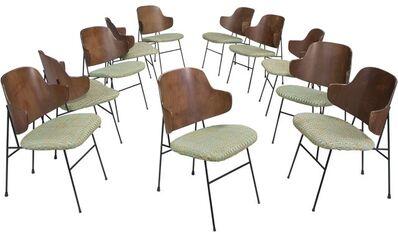Ib Kofod-Larsen, 'Eleven Penguin Chairs', circa 1952