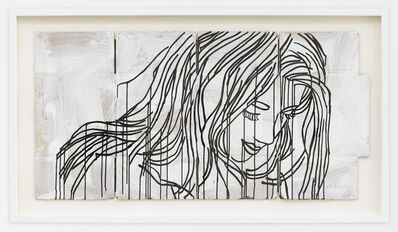 Ghada Amer, 'Study for the Red Portrait', 2017