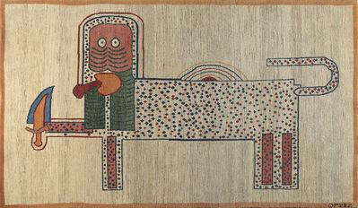 Parviz Tanavoli, 'Lion and Sword IV', 1974