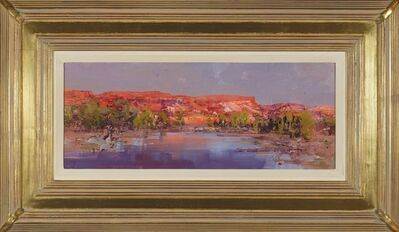 Ken Knight, 'The glow of evening - Fortescue River', 2013