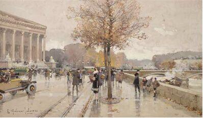Eugène Galien-Laloue, 'La Chambre des Députés à Paris', NA