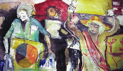 Regina Silvers, '#8101 Granny Peace Brigade Series: Times Square', 2009