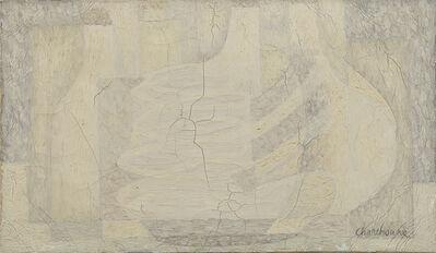 Serge Charchoune, 'Nature morte aux flacons (composition blanche)'