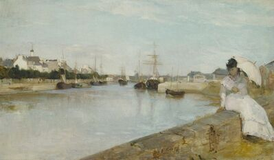 Berthe Morisot, 'The Harbor at Lorient', 1869