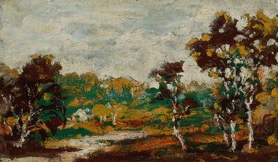 Ralph Albert Blakelock, 'Middletown Landscape'