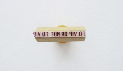 Ivana Vollaro, 'To vip or not to vip', 2012