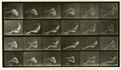 Eadweard Muybridge, 'Animal Locomotion # 492', 1887