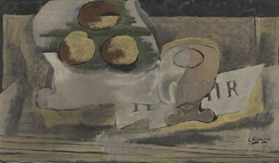 Georges Braque, 'Nature Morte aux Peches (Still Life with Peaches)', 1920