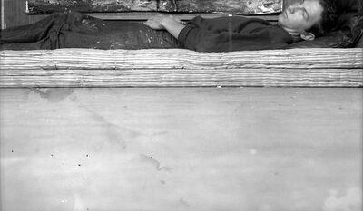 Robert Rauschenberg, 'Postcard Self-Portrait, Black Mountain (II)', 1952