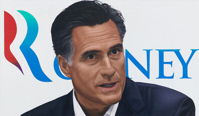 Richard Phillips, 'Vote Mitt Romney', 2012