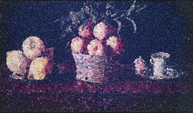 Vik Muniz, 'Still Life with Lemons, Oranges and a cup of Water, After Francisco Zubaran (from Pictures of Magazines)', 2004
