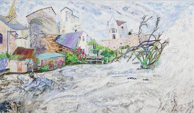 Olive Ayhens, 'Brittany Village', 2011