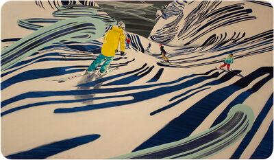 BENI ALTMUELLER, 'to slide down', 2015