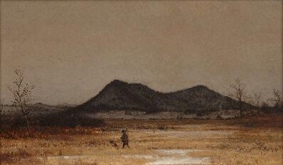 Jervis McEntee, 'Hunter and Dog', 1873