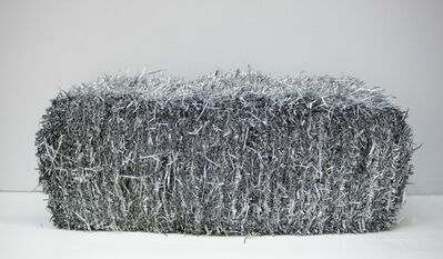 Anselm Reyle, 'Straw Bale', 2009