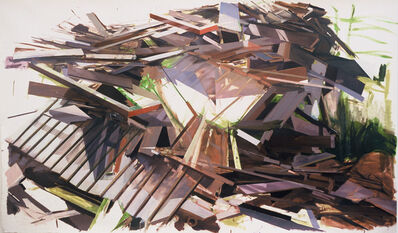 Thuy-Van Vu, 'Remnants of a House on Eastern Avenue', 2006