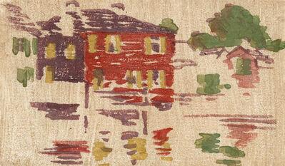 Arthur Wesley Dow, 'Five Houses', ca. 1895