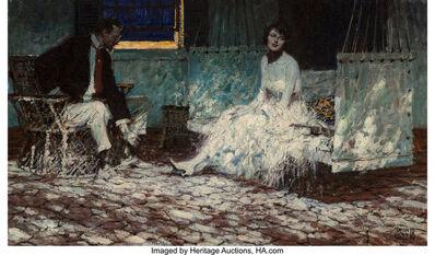 Dean Cornwell, 'The Porch Wren, The Saturday Evening Post interior illustartion', 1918