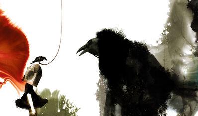 Daniel Egnéus, 'The Raven', 2014