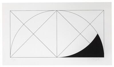 Gottfried Honegger, 'Serigraphie positiv 3, 1994', 1994