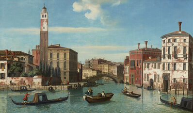 William James, 'View of the Grand Canal, Venice, with San Geremia and the Entrance to the Cannaregio', 18th Century
