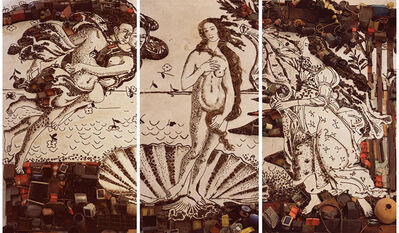 Vik Muniz, 'The Birth of Venus, after Botticelli (Pictures of Junk)', 2008