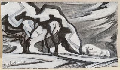 Raye Leith, 'Autumn Cottonwoods, Abiquiu 11/2', 2020