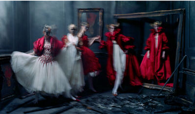 Tim Walker, 'Xiao Wen Ju, Harleth Kuusik, Yumi Lambert, Nastya Sten, Alexander McQueen 'The Girl who Lived in the Tree' collection, London', 2014