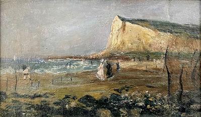Norbert Goeneutte, 'Sur la plage, Le Tréport', ca. 1875