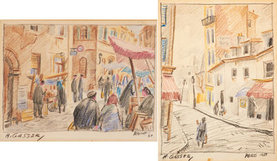 Henry Gasser, 'Rome and Paris', 1950