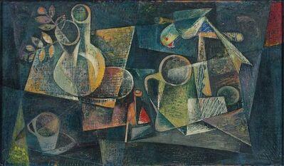 Jyoti Bhatt, 'Still Life with Parrot', 1955