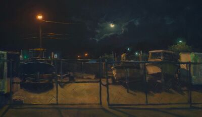 Carl Bretzke, 'Moon Over Back Lot', 2020
