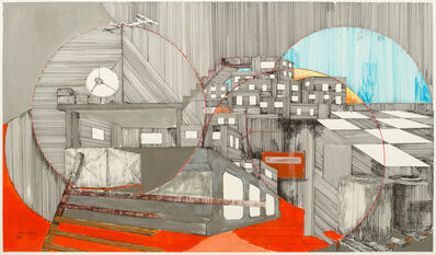 Yazan Abu Salameh, 'Schizophrenic City', 2021