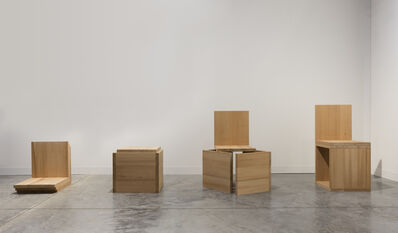 Mateo López, 'A Chair Not a Chair (Cube Variations I, II, III, IV)', 2016