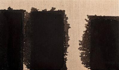 Yun Hyong-keun, 'Burnt Umber  & Ultramarine', 2003