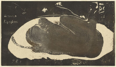 Paul Gauguin, 'Manao Tupapau (She is Haunted by a Spirit)', 1893-1894