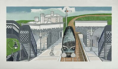 Edward Bawden, 'Braintree Station ', ca. 1961