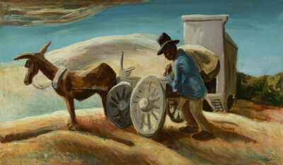Thomas Hart Benton, 'Morning and a Sack of Meal', ca. 1933