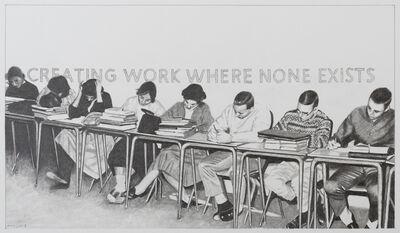 Martin Mull, 'Creating Work Where None Exist', 2018