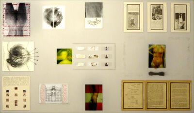 Sergio Zevallos, 'El Escorial - Materiales de una excavación', 2015