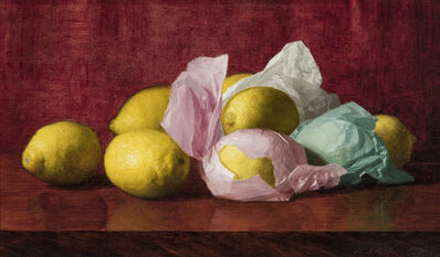 William J. McCloskey, 'Still Life with Wrapped Lemons', ca. 1895